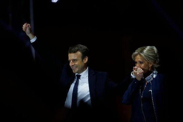 Макрон Франція Бріжит