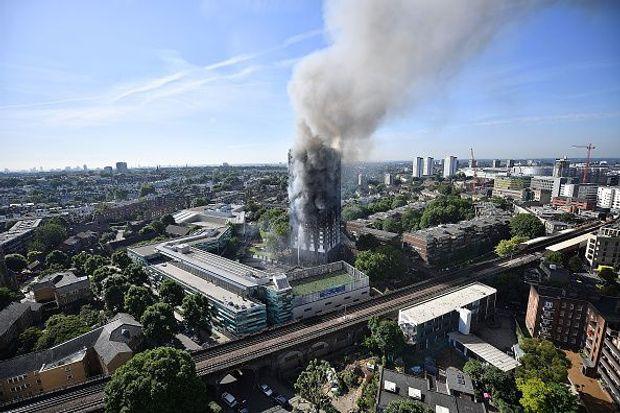 Лондон пожежа Grenfell Tower