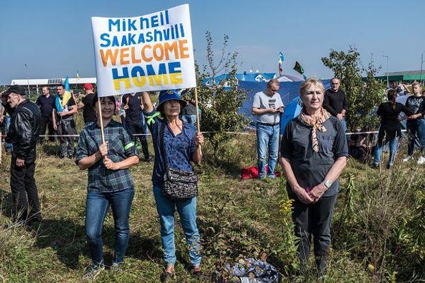 Прихильники Саакашвілі прорив кордону