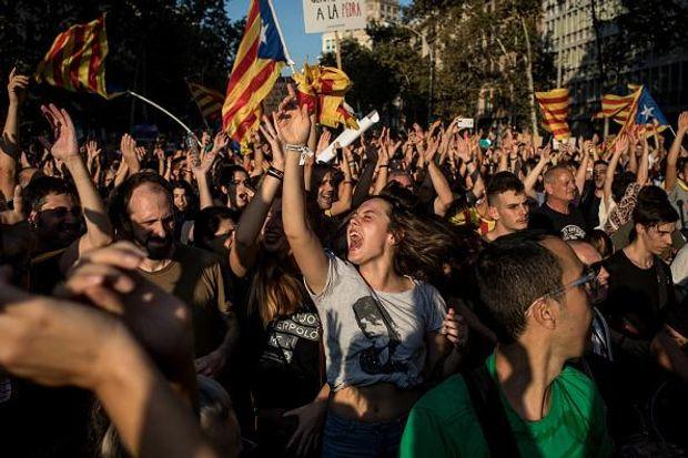 Каталонія референдум протести