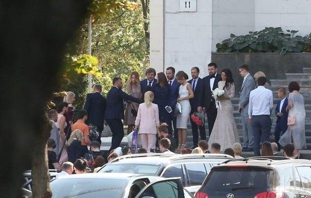 Весілля сина Луценка