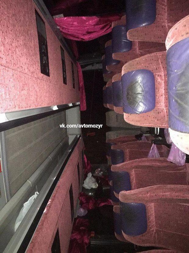 Аварія з автобусом під Києвом