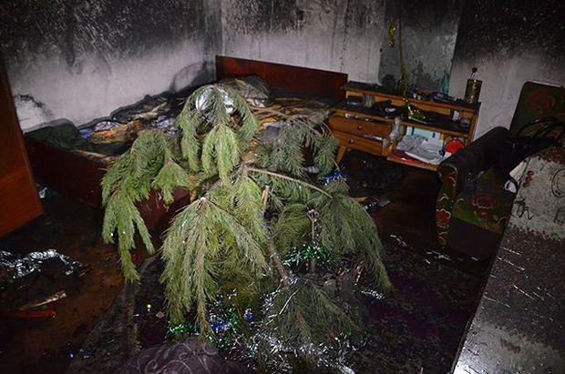 У пожежі загинуло подружжя