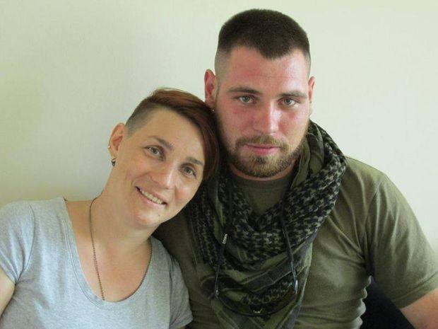Зеленюк Оля та її чоловік Дмитро