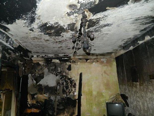 Чоловік навмисне підпалив квартиру у Києві