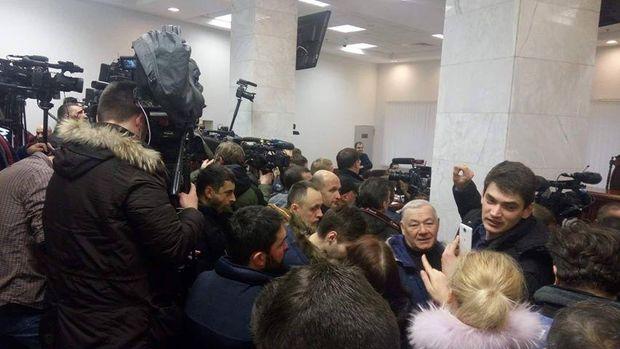 Саакашвілі суд журналісти