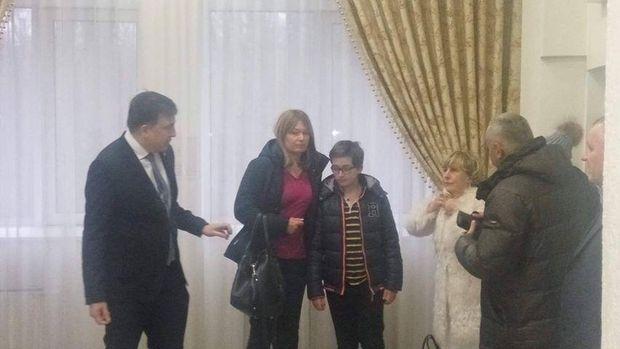Саакашвілі з дружиною прибули в суд