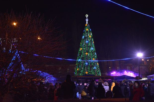 Різдво 2018 у Чернівцях
