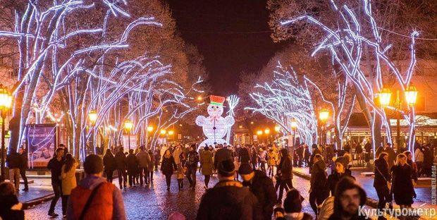 Різдво 2018 в Одесі