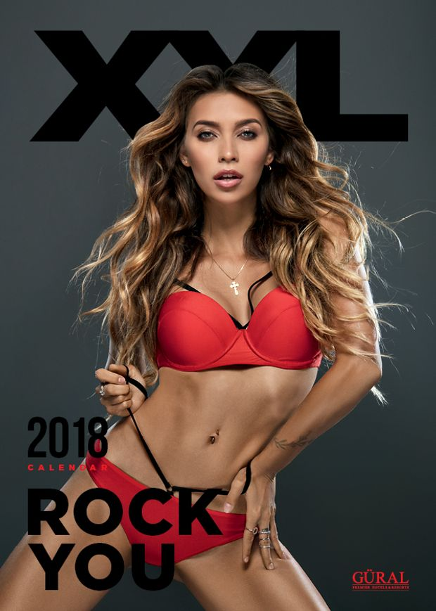 Календар XXL: обкладинка – Регіна Тодоренко