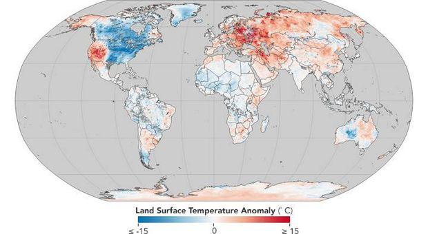 Глобальне потепління у світі