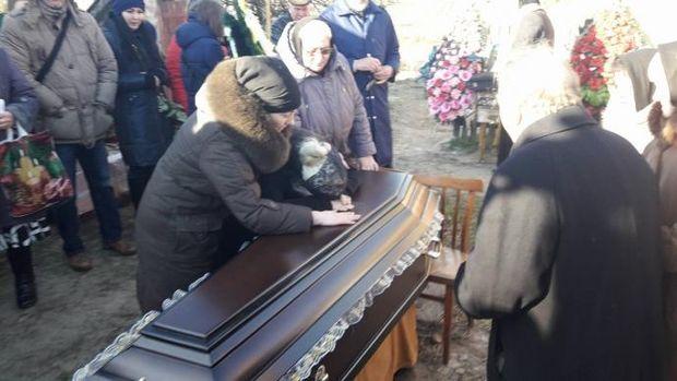Похорон Ірини Ноздровської