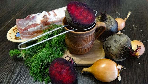 Інгредієнти для верещаки на Старий Новий рік