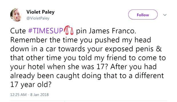 Джеймс Франко потрапив усекс-скандал знеповнолітньою