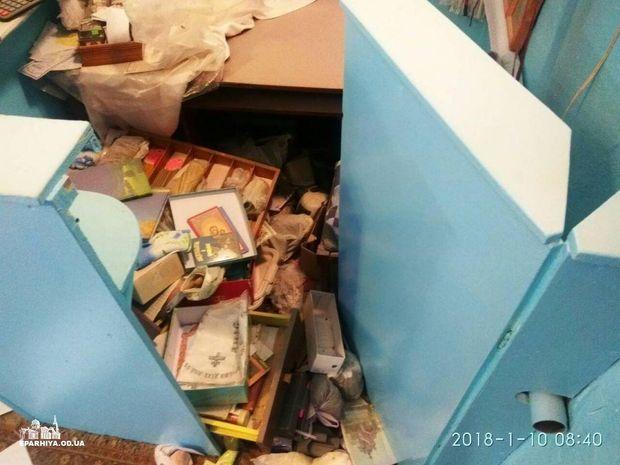 На Одещині розгромили церкву УПЦ МП