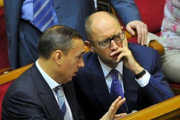 Мартиненко і Яценюк у ВР