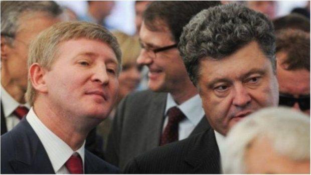 Порошенко і Ахметов
