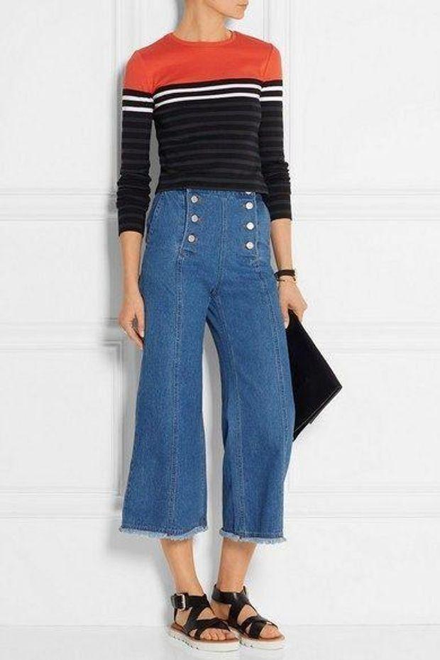 Які джинси будуть модні у 2018  фото - Lifestyle 24 a29f4460e9dfb
