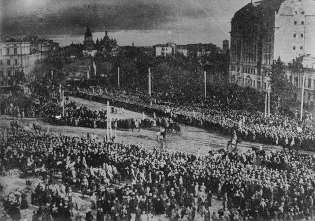 Підписання Акту Злуки у 1919 році в Києві