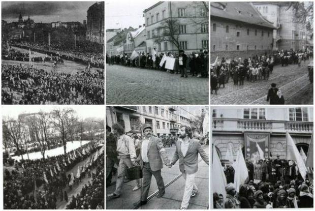 Святкування Дня Соборності в різні роки