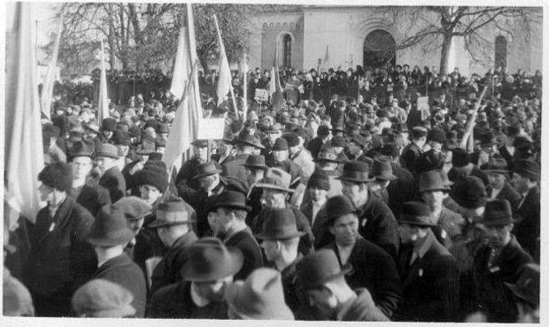 Святкування Дня Соборності у місту Хуст у 1939році