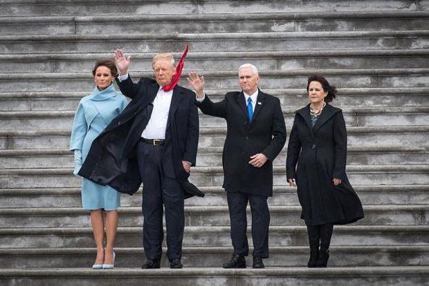 Трамп Меланія Пенс інавгурація
