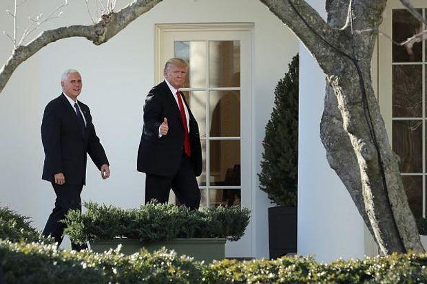 Трамп Пенс Білий дім
