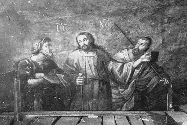 Фрески, Київ, Софія, історія, фрески