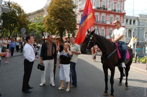 Валентин Дорошенко викликав екс-міського голову Едуарда Гурвіца на дуель