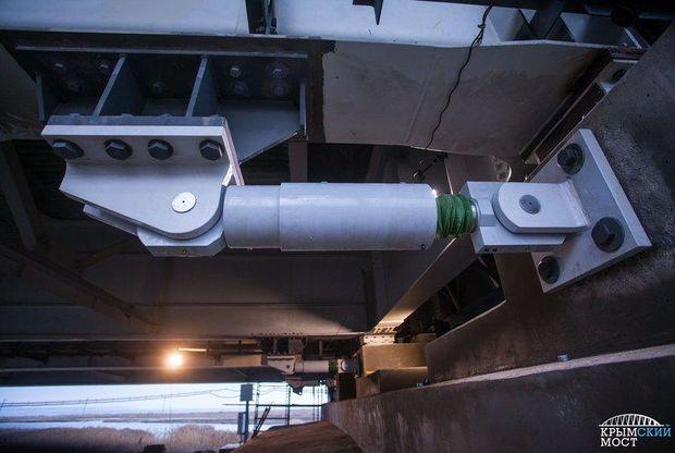 На Керченському мості встановлюють шок-трансміттери