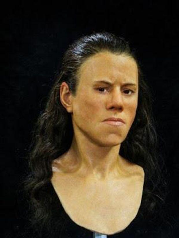 Науковці відтворили обличчя дівчини за черепом, якому 9 тисяч років