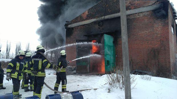 Пожежа у Слов'янську