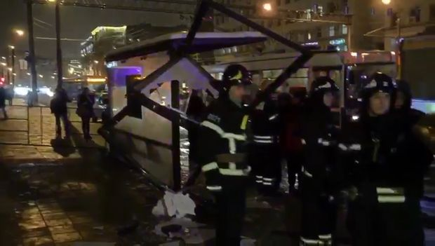 Смертельна аварія в Москві