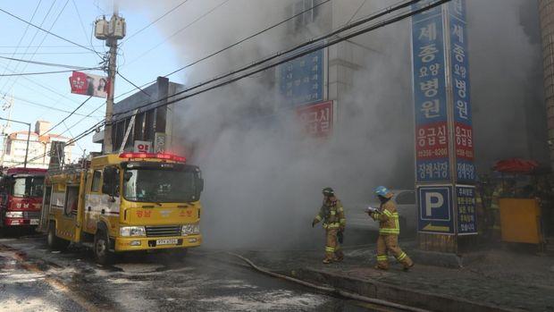 Пожежа в Південній Кореї