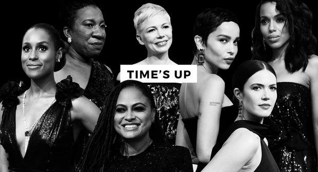 Зірки, які підтримали кампанію Time's Up