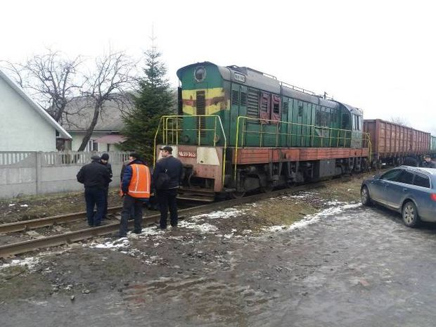 наїзд, потяг, діти, Львівщина