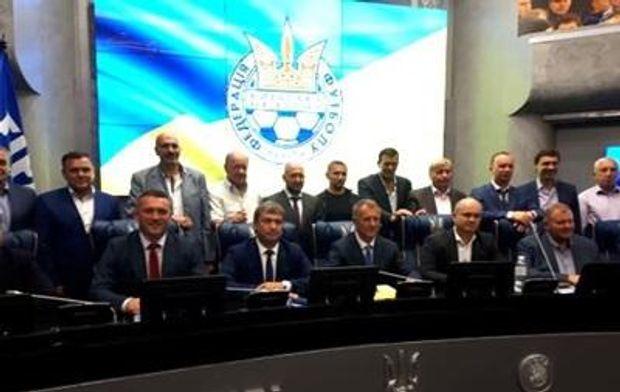 Засідання Федерації футболу в Києві