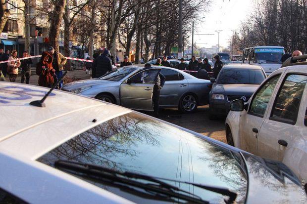 Поліція, Одеса, стрілянина, крадіжки