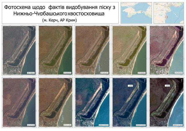 Фотозйомка видобутку токсичного піску в Криму