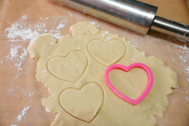 печиво на валентина