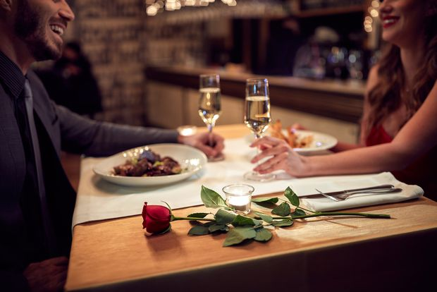 Романтична вечеря на двох на День святого Валентина