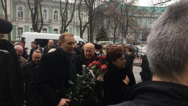 Кучма Каденюк похорон