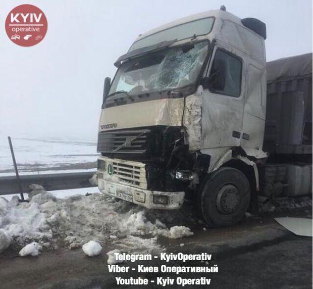 ДТП на трасі Київ – Одеса