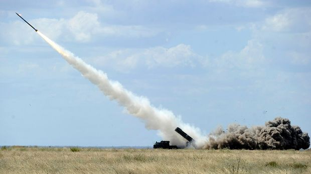 Випробування українського ракетного комплексу