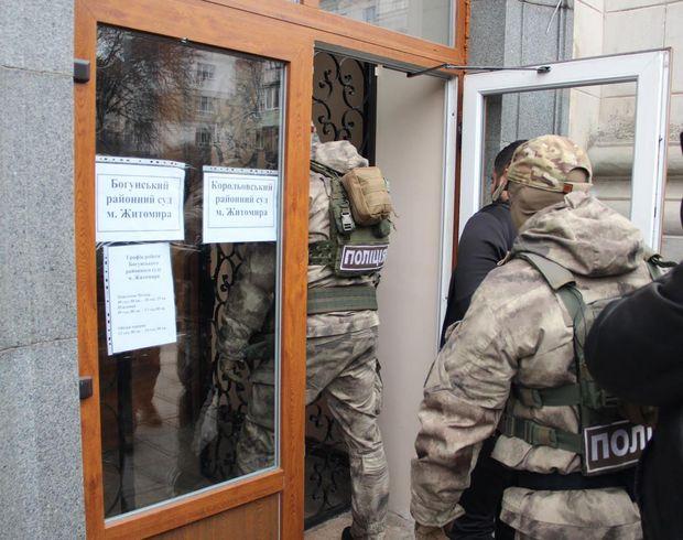 У Житомирі підозрюваному у вбивстві не змогли обрати міру запобіжного заходу