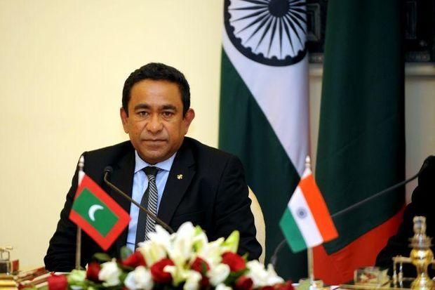 Президент Мальдивской республики Ямин Гаюм