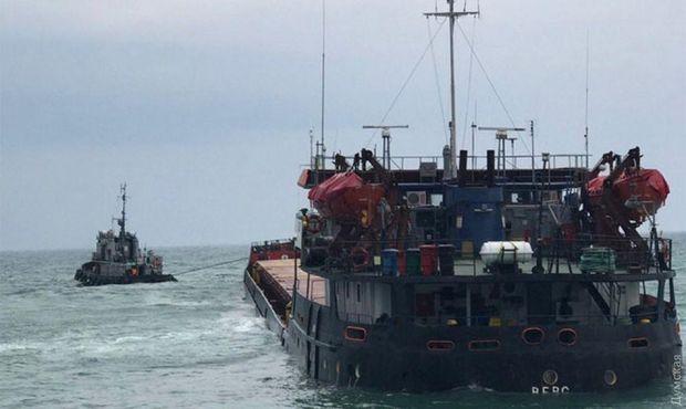Біля берегів окупованого Криму затонуло судно