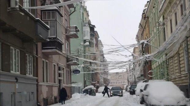 чернівці сніг негода
