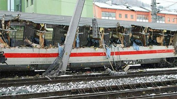 Зіткнення потягів в Австрії