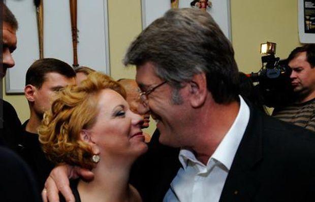 Катерина та Віктор Ющенко